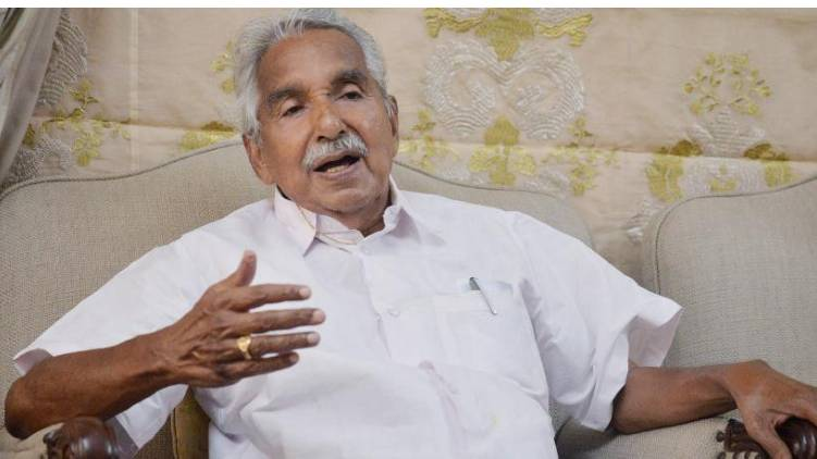 oommen chandy confirmed covid