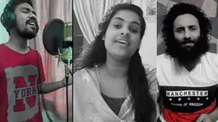 A Vertical Musical Tribute to Kerala's continuing fight against Covid