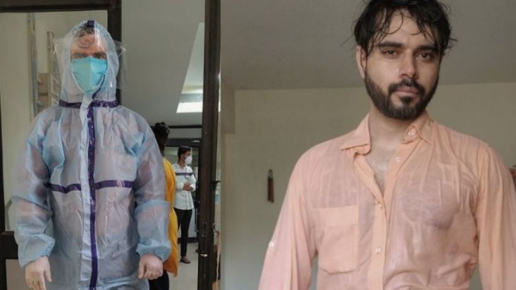 Doctor Shares After-Effects Of Wearing PPE Suits