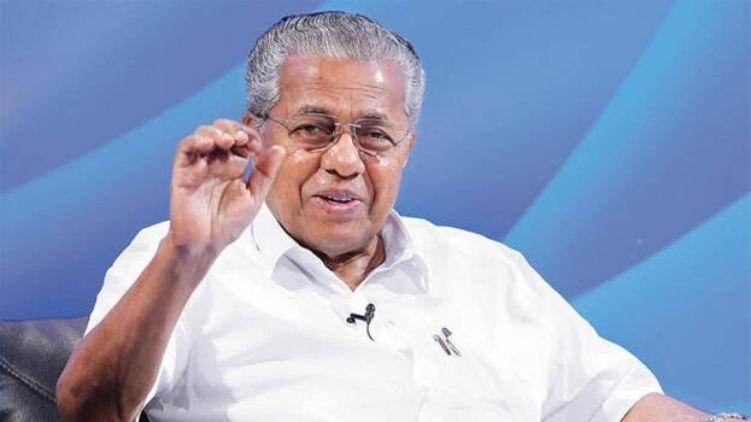 Pinarayi Vijayan won from Dharmadam with a majority of 50000 votes