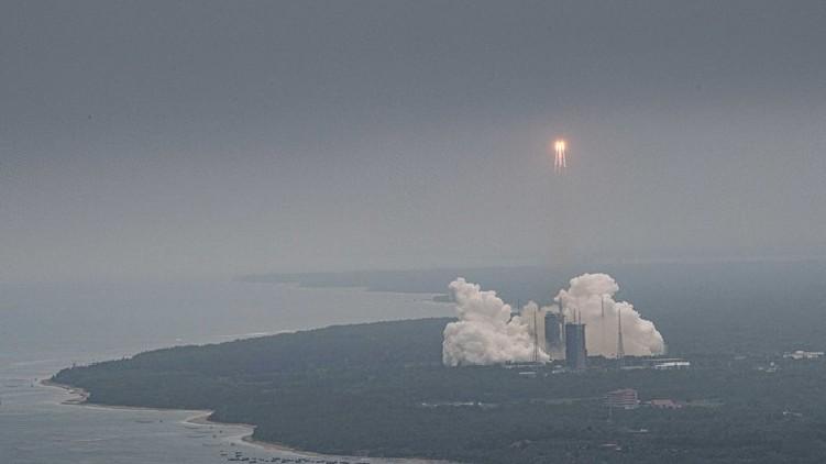 Chinese rocket crashes Ocean