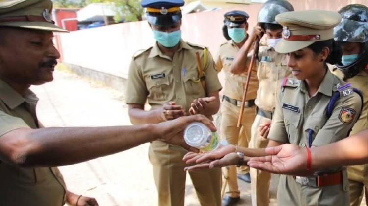 covid among policemen rise