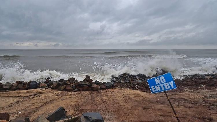 Yaas cyclone approache Odisha
