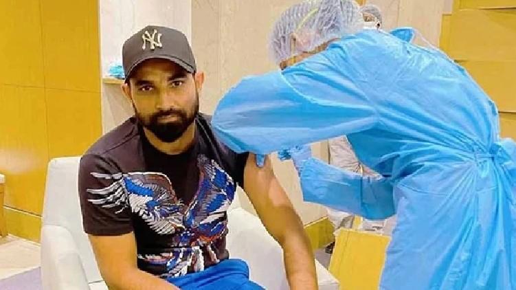 Mohammed Shami Covid vaccine
