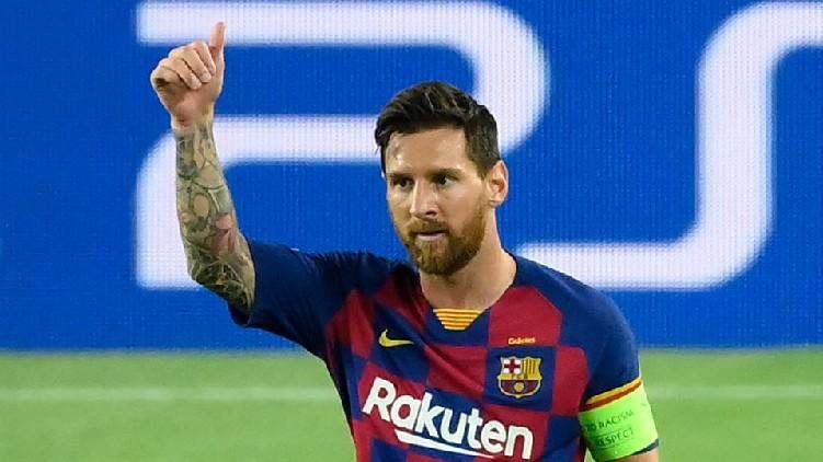 Lionel Messi Barcelona President