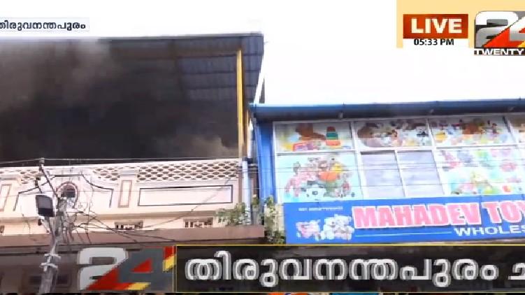 fire in thiruvananthapuram chalai