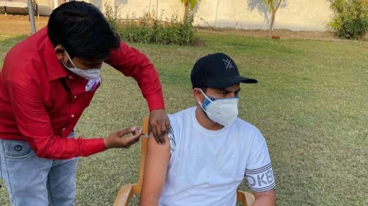 Kuldeep Yadav Covid vaccine