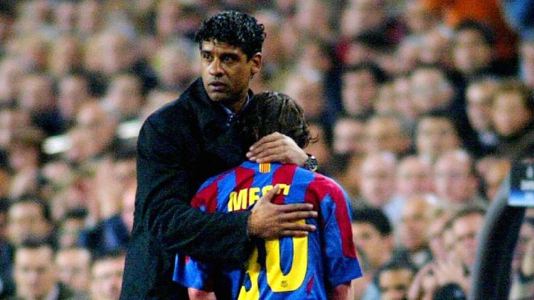 Rijkaard Koeman coach Barcelona