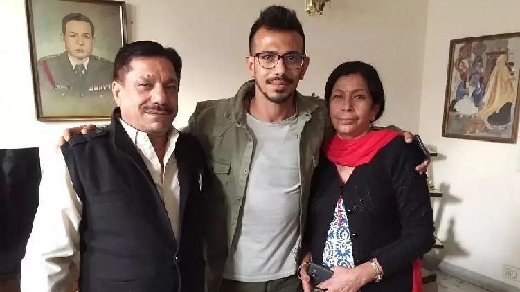 yuzvendra chahal's parents covid