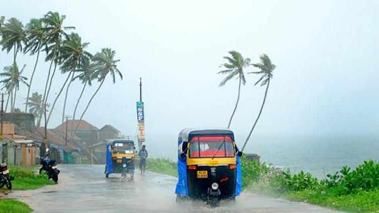 Chance low pressure Rains