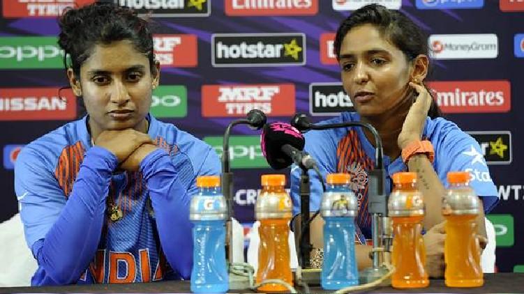 Harmanpreet Mithali BCCI's gender