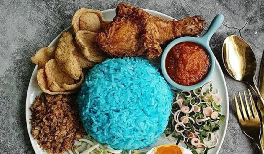 blue rice recipe and benefits