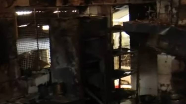 district collector sought report on hospital fire