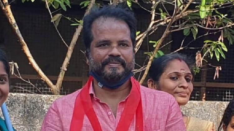 balachandran won in thrissur