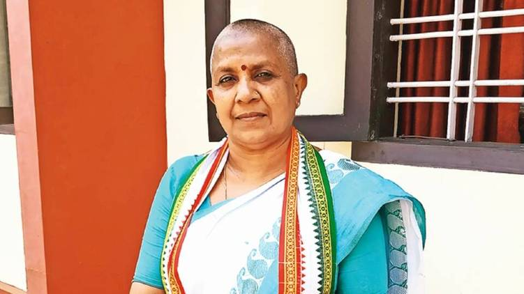 lathika subhas joins ncp official declaration
