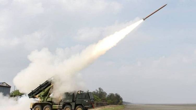 DRDO successfully test fires Pinaka
