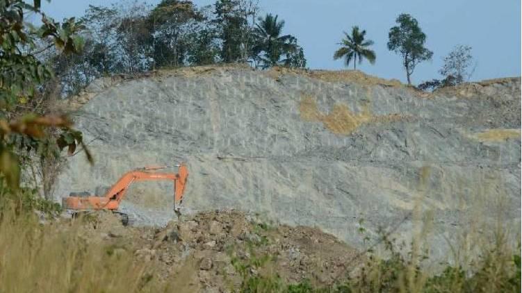IB visited thrissur quarry