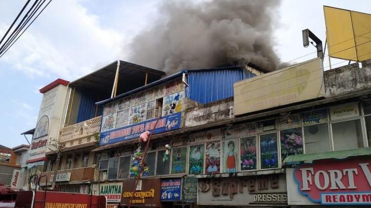 Chala fire godown illegally