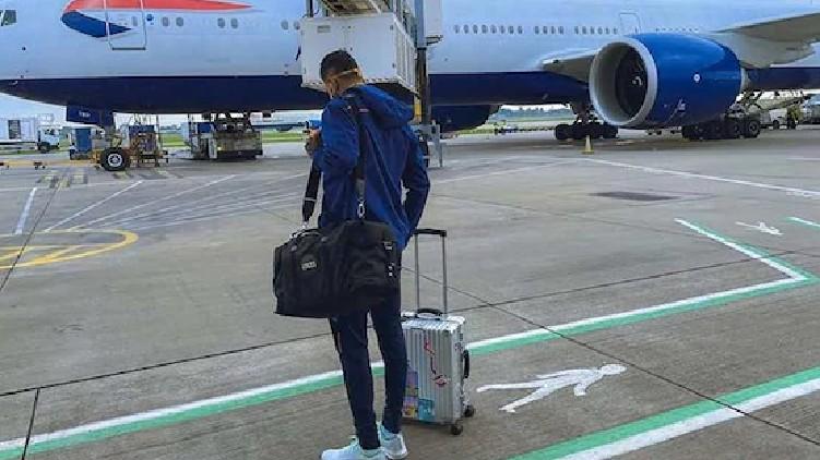 Team India Arrives London