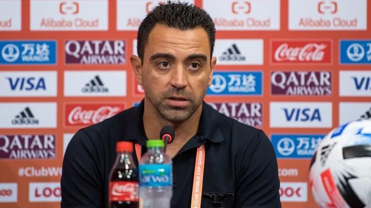 Xavi rejecting coach Barcelona