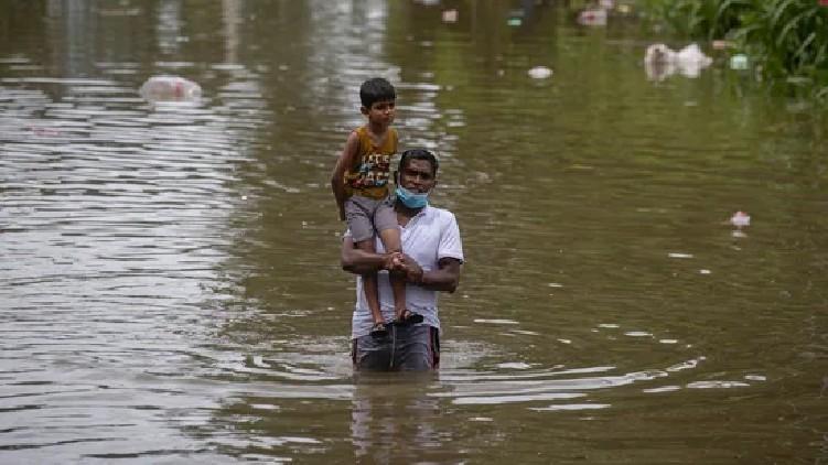 killed heavy rains Lanka
