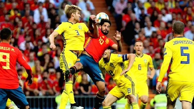 euro cup spain sweden