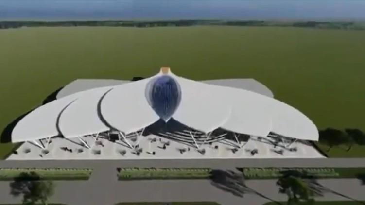 bjp congress lotus airport