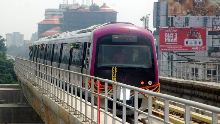 Bengaluru cut trees Metro