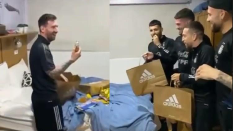 Messi celebrates birthday Argentina