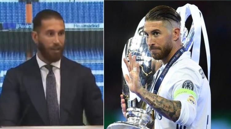 Ramos Real Madrid farewell