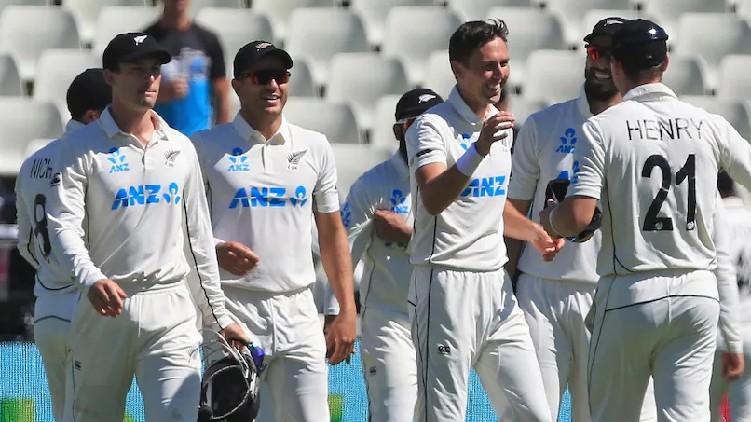 New Zealand Overtake India