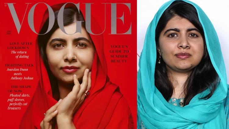 vogue uk cover malala yousafzai