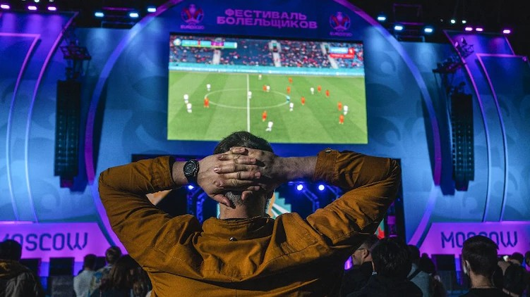 Moscow Closes Fan Zone