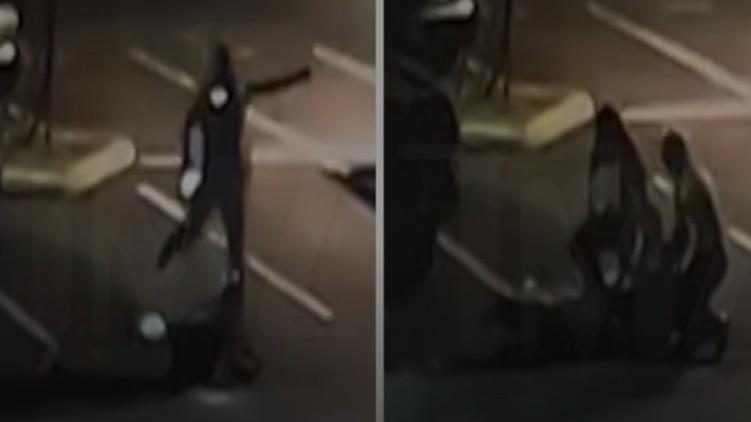 Deputy Kicks Suspect Head