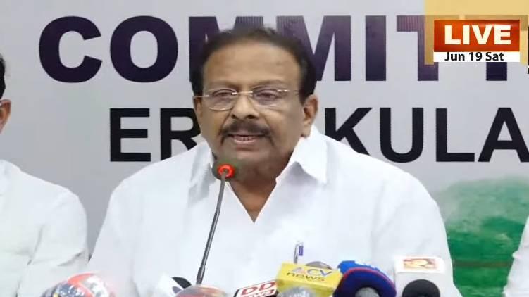 cm talked like political criminal says k sudhakaran