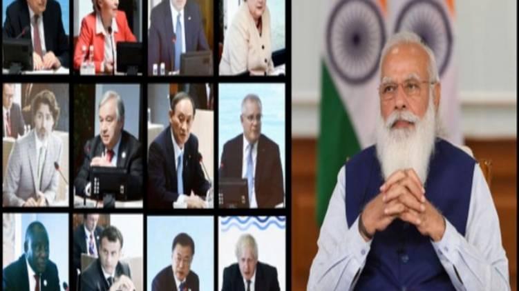 india will enact paris treaty says pm