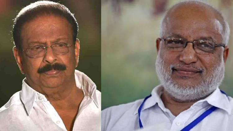 k sudhakaran compromises with rss alleges ma baby