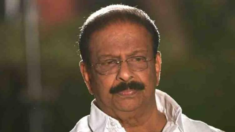k sudhakaran statement on kpcc