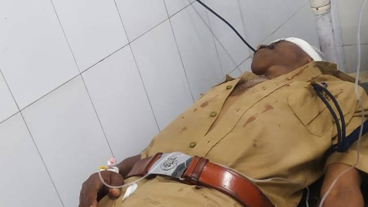 manimala si attacked during arrest