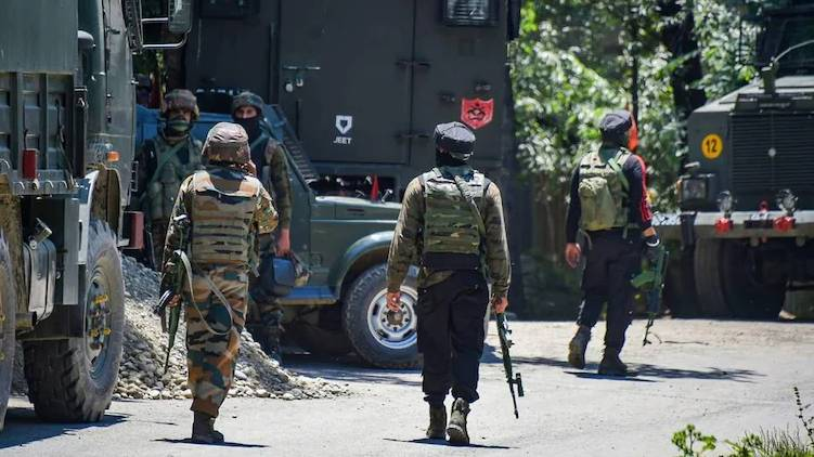 terrorist attack in pulwama JK police officer and wife killed