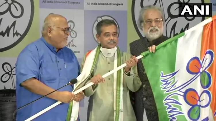 Abhijit Mukherjee joins Trinamool Congress