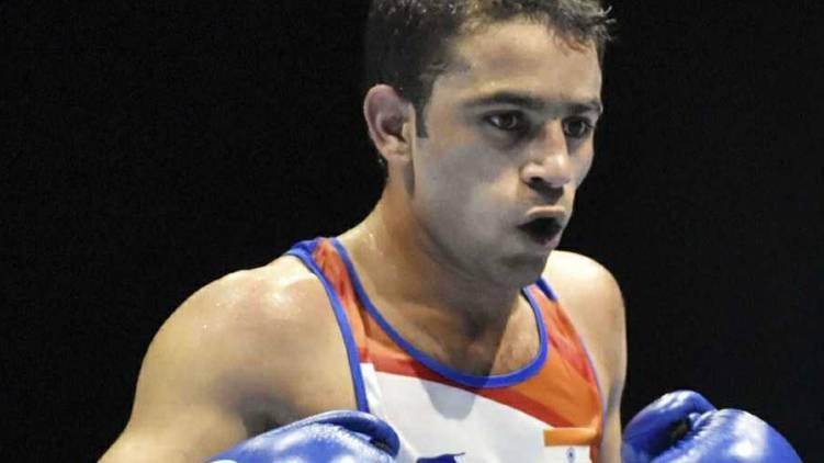 Amit Panghal loses
