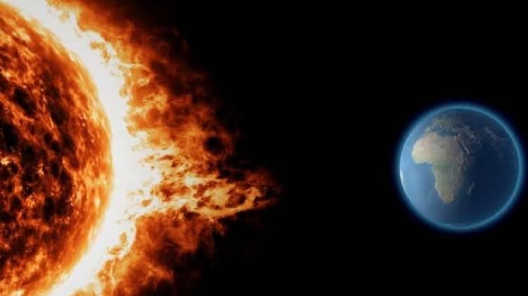 Massive solar storm heading towards Earth