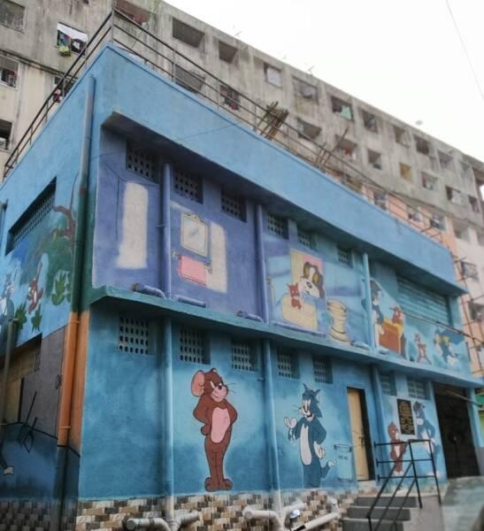 mumbai largest public toilet