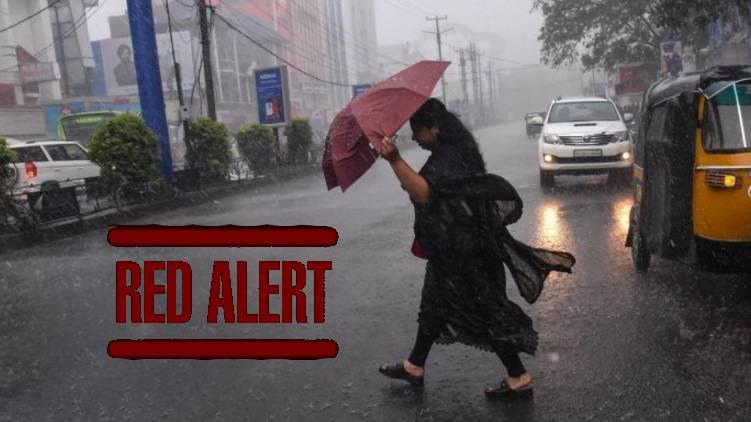 RED ALERT declared in kerala