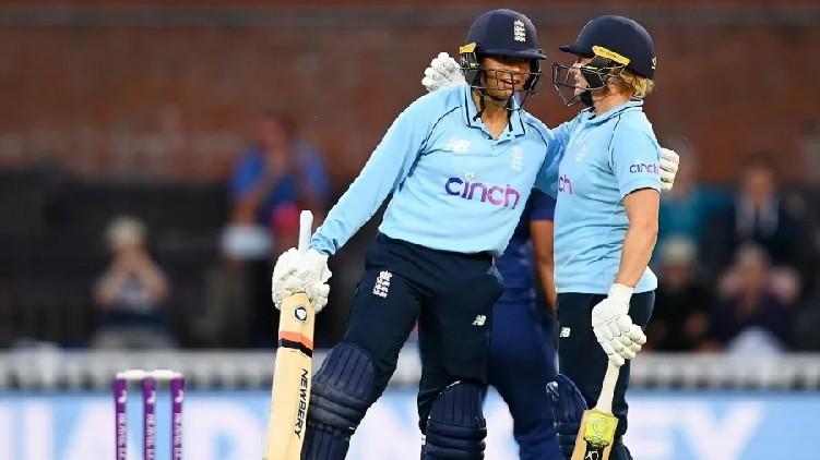 england women won india
