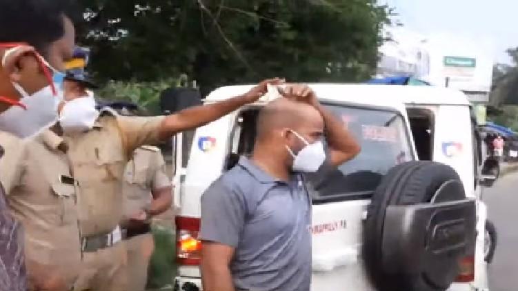kodakara black money arrested