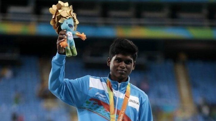 Paralympics Mariyappan Thangavelu Lead
