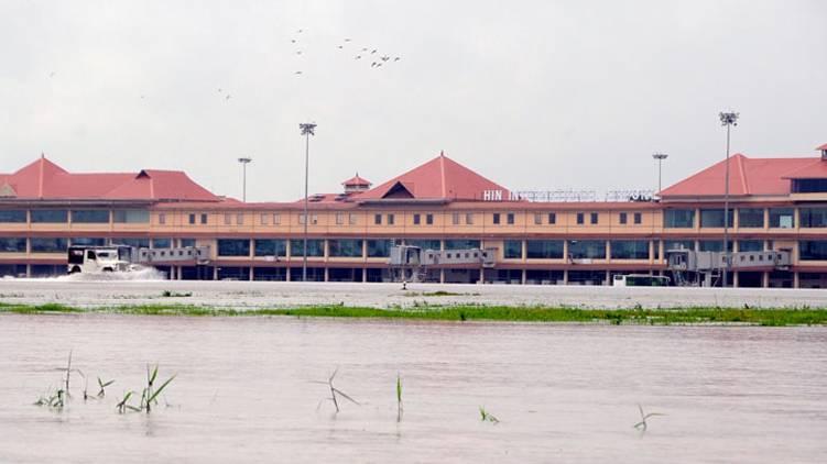 kochi airport flood