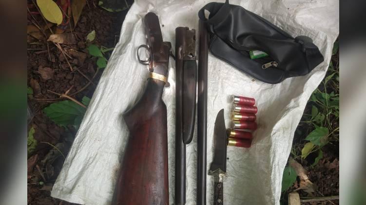gun found malappuram